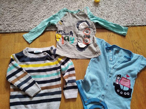 Ubrania dla chłopca 80