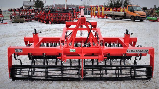 Agregat uprawowo-siewny 2,7 m Euro-masz TRANSPORT