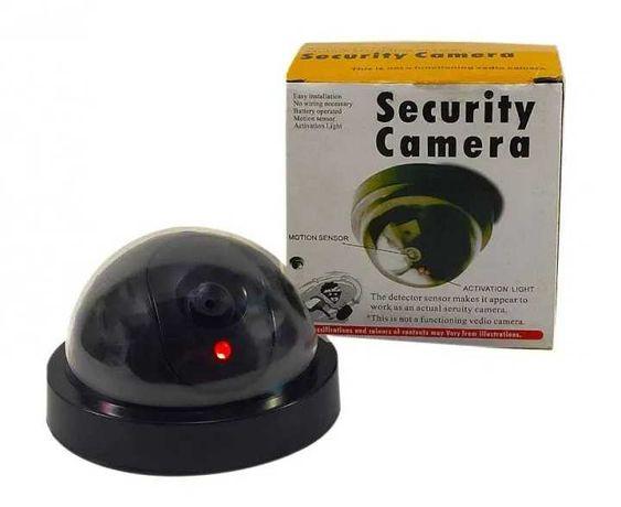 Камера видеонаблюдения муляж с подсветкой НОВЫЕ