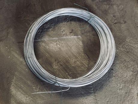 Drut naciągowy ocynkowany fi 3,0 mm