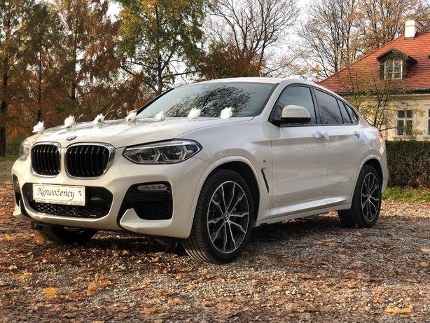 Samochód auto do ślubu - BMW X4 z klasą