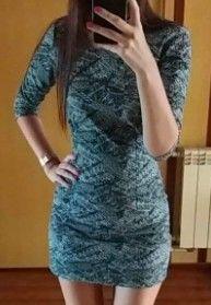 Sukienka VUBU - szara mini