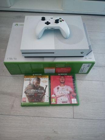 Xbox one s 1tb (na gwarancji)