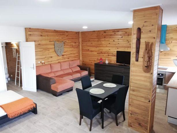 Alugo apartamento T0 Open Space Lourel Sintra- com quintal