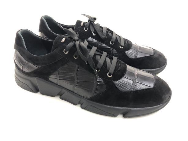 кроссовки из кожи крокодила 40.42.43.44.45