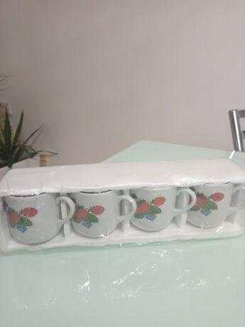 Кофейные чашечки 4 шт(новые!)