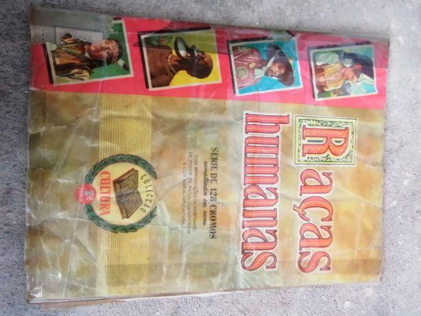 Caderneta Raças humanas/antiga