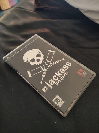 Caixa jogo Jackass PSP