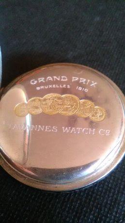 zegarki kieszonkowy Tavannes Watch z 1910 r srebra-srebro antyk.
