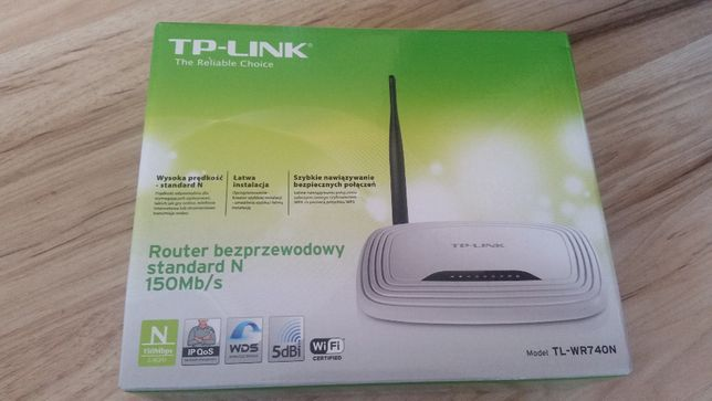Router bezprzewodowy TP-LINK
