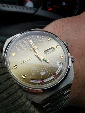 Zegarek Orient Cesarski Królewski Patelnia Mechaniczny Nakręcany