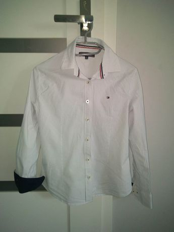 Biała koszula Tommy Hilfiger 38/10.M.
