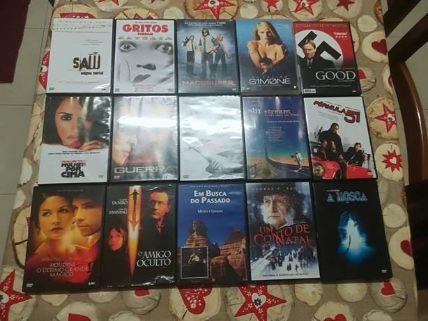 Filmes 48 DVDS C/Caixa / Originais (50 Cêntimos )