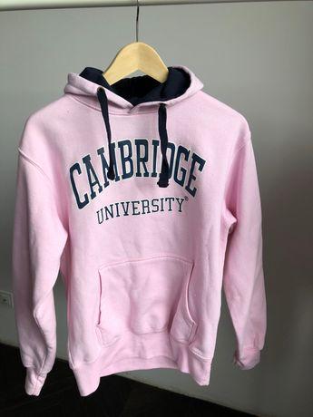 Bluza z kapturem rozowa r. S