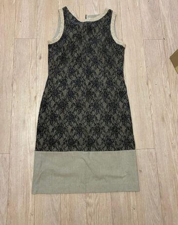 Шикарное платье Twin Set с французским кружевом