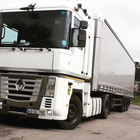 Camiao Renault magnum