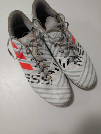Сороконіжкі Adidas Nemeziz Messi 17.4 White 48 р оригінал про модель