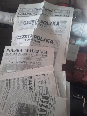 kolekcja, wojna, gazety, czasopisma, 1941
