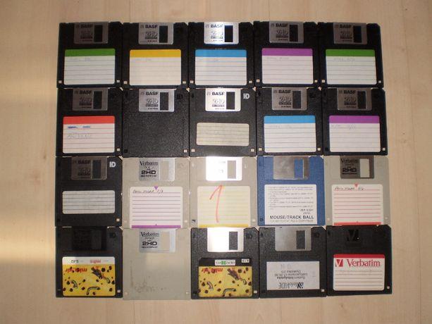 Dyskietki do komputera stacjonarnego, raczej dla kolekcjonerów, OKAZJA