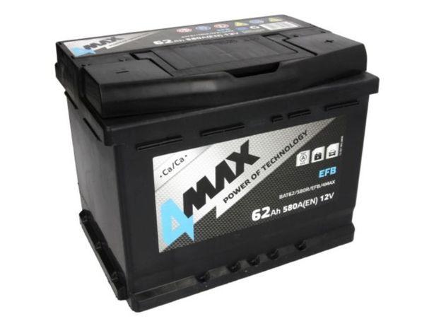 Akumulator 4Max EFB Start-Stop BAT62 12V 62Ah 580A P+ Kraków