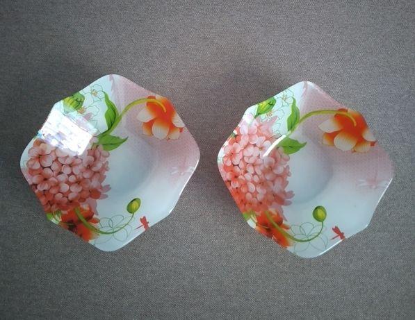 Тарілки з квітами 2 шт
