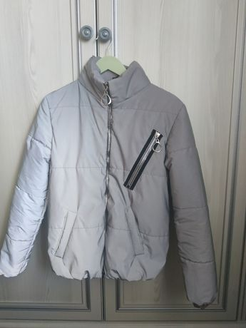 Куртка деми рефлекторная 152-160см