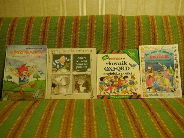 Komplet ksążek edukacyjnych dla dzieci