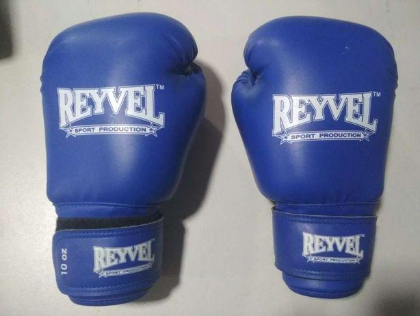Продам боксерские перчатки Reyvel 10 oz кожа