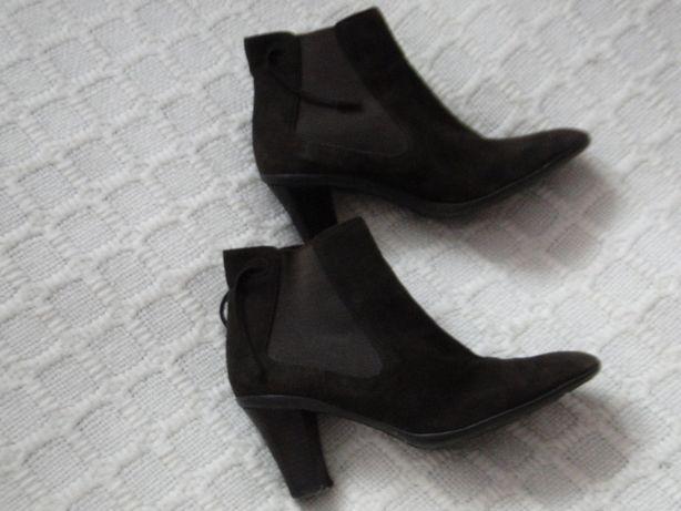 buty, botki zamszowe Lara Manni
