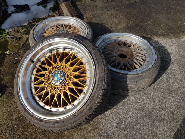 "Felgi 3szt. 18"" 5x112. 5x120. Dare RS. BBS. Rant 9.5j + 8.5j BMW. Audi"