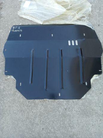 Сталевий захист на двигун,КПП,радіатор Volkswagen Polo Sedan