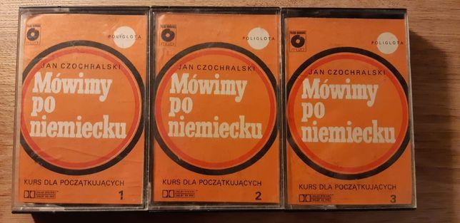 Kurs języka niemieckiego dla początkujących na kasetach
