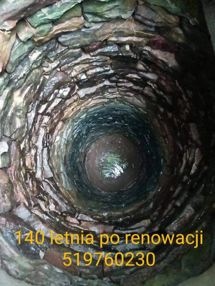 Odmulanie, spoinowanie oraz pogłębianie starych studni Kregowych