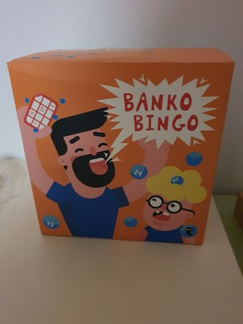 Jogo bingo novo e embalado