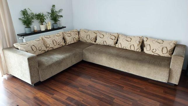 Narożnik modułowy kanapa sofa BRW DOORS beż