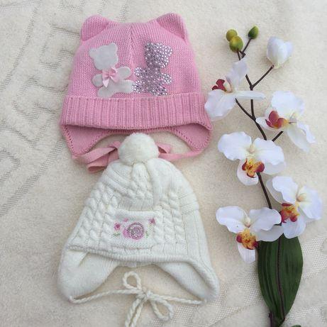 Шапочка дитяча до року, шапка зимова