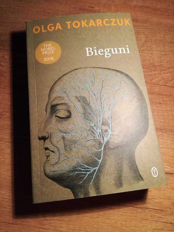 Książka Olgi Tokarczuk pt. Bieguni.