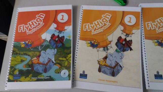 Fly High 1, 2, 3, 4: Pupil's Book+Activity Book книга/рабочая тетрадь