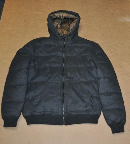 Bershka мужская теплая куртка пуховик бершка