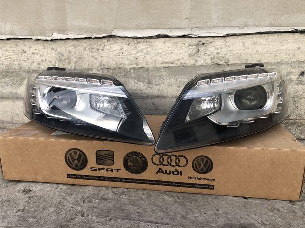 Фары Audi Q7 оптика Ауди ку7 разборка