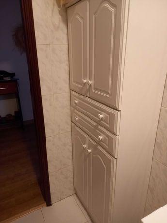 Móvel de WC - Branco - Como novo.