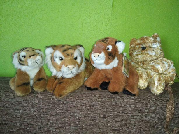 Набор мягкие игрушки тигр wwf, soft и кошелек до 20 см