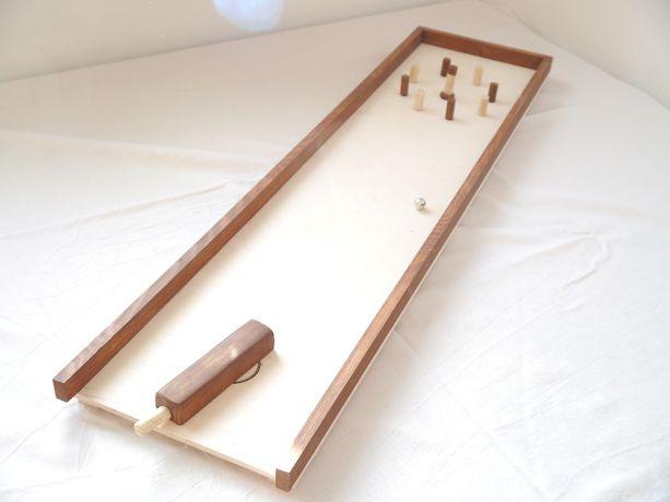 Ręcznie robiona zręcznościowa gra stółowa - Skubb