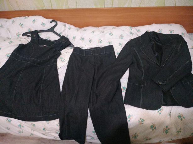 школьный комплект тройка для девочки