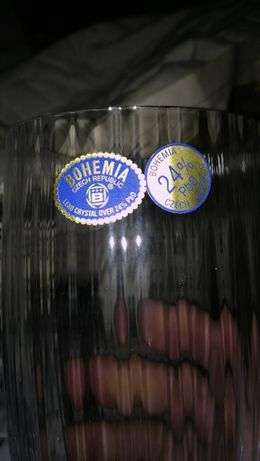 Colecção completa Copos Bohemia Cristal 24%