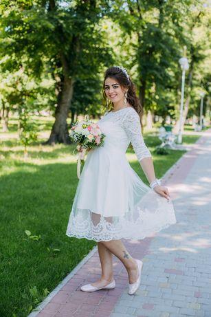 Свадебное ,выпускное платье 48р