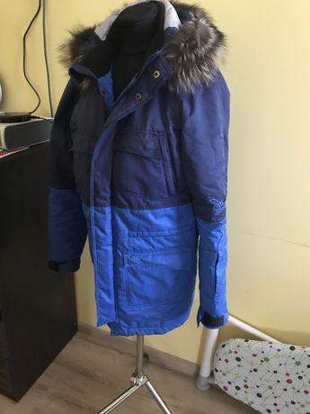 Куртка зимова зимняя парка 48р в ідеальному стані