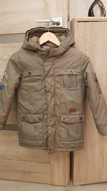 ciepła zimowa kurtka Coccodrillo roz. 128