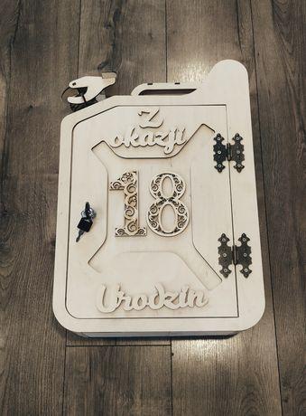 Karnister 18 urodziny prezent osiemnastka