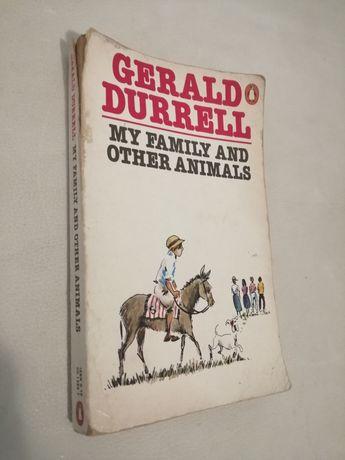 "Книга на английском языке Д. Дарелл ""My family and other animals"""
